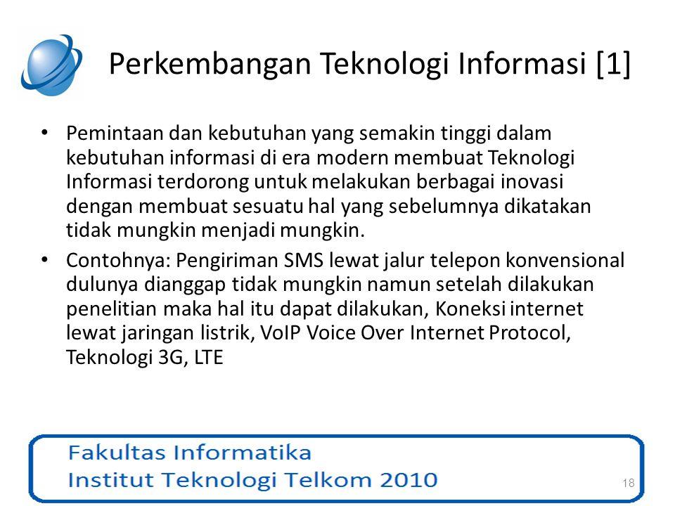 Perkembangan Teknologi Informasi [1]